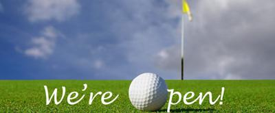 Golf Course Re-Opens